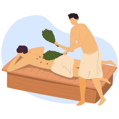 Досуг пенсионеров: баня и краеведение