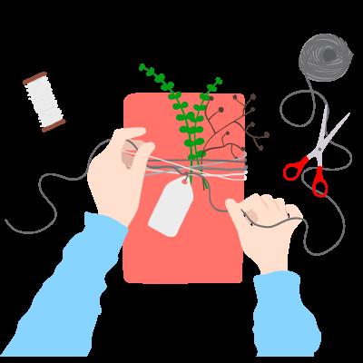 Как собрать оригинальный подарок за 30 рублей