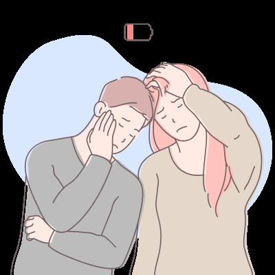 Эмоциональное выгорание родственников тяжелобольного