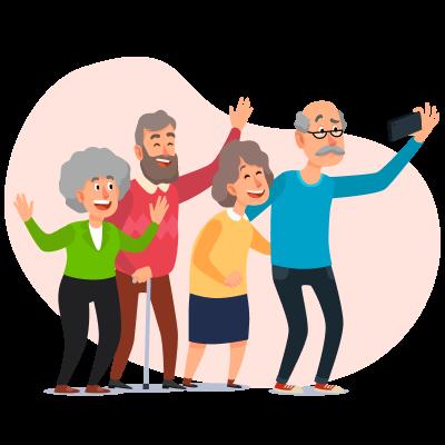Упрямство у пожилых людей