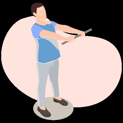 Самые простые упражнения для инвалидов