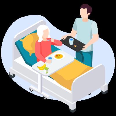 Как кормить человека после инсульта. Советы логопеда
