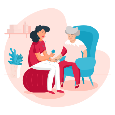 Организация ухода за пожилым человеком: советы и стратегии