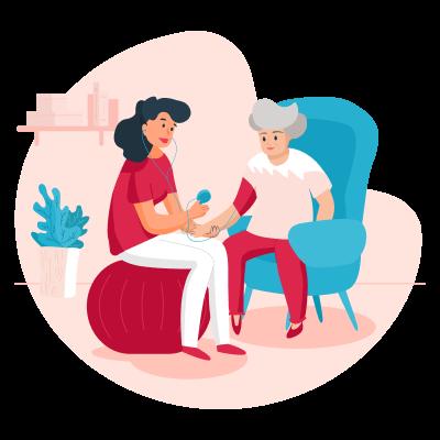 Особенности общения с пожилыми людьми с нарушениями зрения
