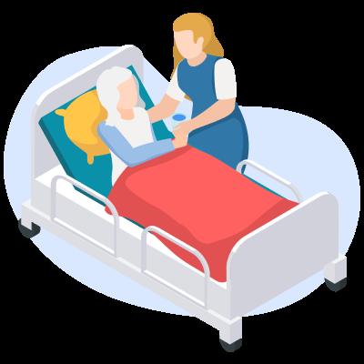 Уход за больным: как лечить пролежни у лежачих больных