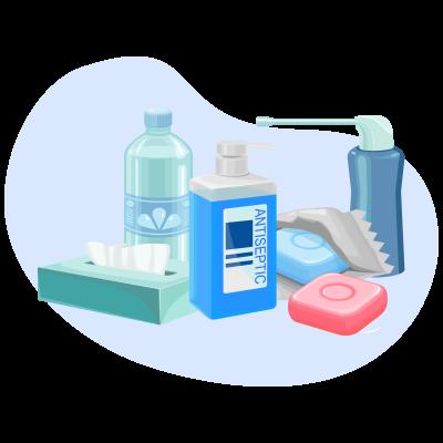 TENA моющие средства и уход за кожей