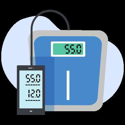 Измерение температуры тела у подопечного