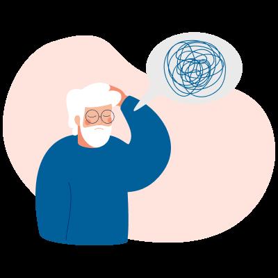 Старческий маразм: симптомы и лечение